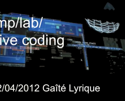 tmp lab live coding