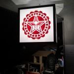 Shepard Fairey - Rise Above Rebel @ Paris XIII