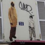 Ballade street art : Belleville
