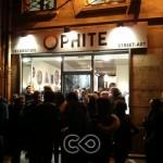 Vernissage à la galerie Ophite le 20 mars 2013