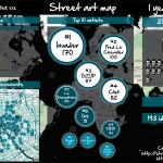 Infographie 1an de la Street art map