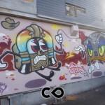 Lyon - Genève, 2 villes, 2 pays, 2 tolérances sur le street art