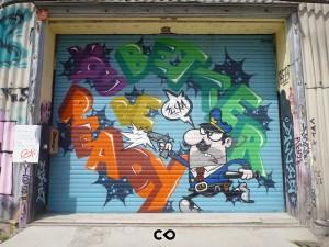 Graffiti in Munich - KultFabrik