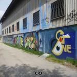 Graffiti in Munich - KultFabrik - SatOne