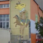 Graffiti in Munich - KultFabrik - Os Gemos