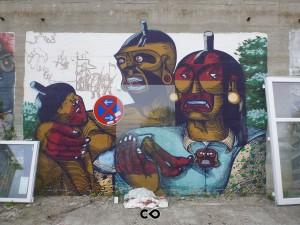 Graffiti in Munich - KultFabrik - Nunca