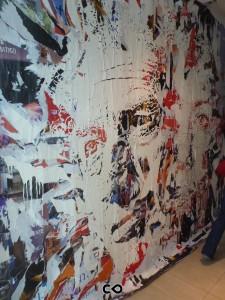 Vernissage Les Bains à la Galerie Magda Danysz - Vhils