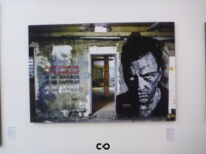 Vernissage Les Bains à la Galerie Magda Danysz - Jef Aerosol