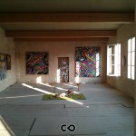 Vernissage de la Rétrospective de Speedy Graphito à Saint-Emilion
