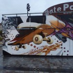 Bordeaux - Graffiti - Skate Parc