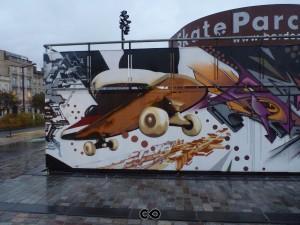 Bordeaux - Graffiti - Skate Parc