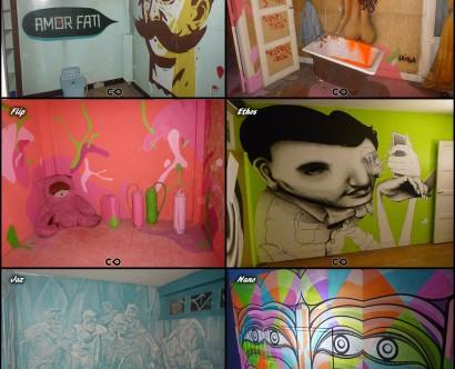 Tour Paris 13 - 6e - Inti // Stinkfish // Herbert Baglione // Speto // Loiola // Flip // Ethos // Jaz // Nano // 2Mil // Entes // Inti Ansa // Flip // Tinho