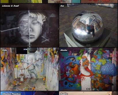Tour Paris 13 - 9e - Azooz // Maryam // Maz // Liliwenn & BomK // Kan // Nilko // Alexöne // Sebastien Preschoux // Sambre