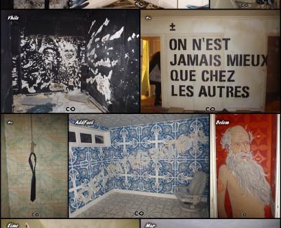 Tour Paris 13 - 2e - Belem // Corleone & Kruella // Pantonio // Vhils // +- // AddFuel // Eime // Mar // Arraiano // Samina